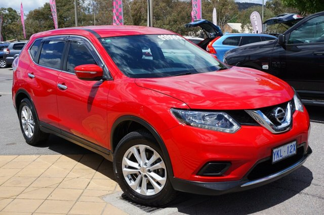 Used Nissan X-Trail T32 ST 2WD, 2014 Nissan X-Trail T32 ST 2WD Burning Red 6 Speed Manual Wagon