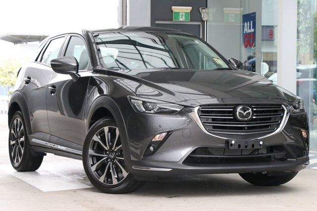 New Mazda CX-3 DK2W7A Akari SKYACTIV-Drive FWD Hamilton, 2020 Mazda CX-3 DK2W7A Akari SKYACTIV-Drive FWD Machine Grey 6 Speed Sports Automatic Wagon