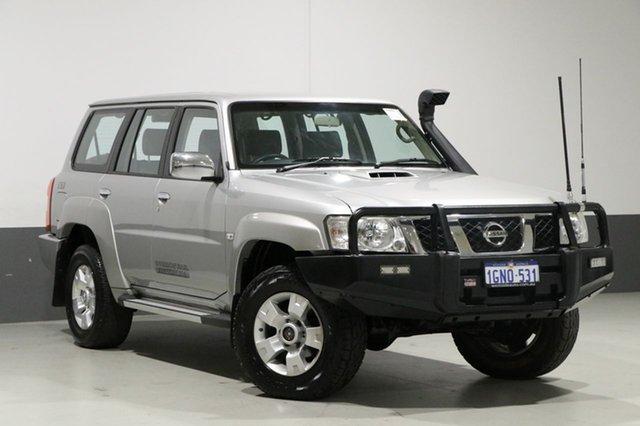 Used Nissan Patrol GU Viii ST (4x4), 2013 Nissan Patrol GU Viii ST (4x4) Silver 4 Speed Automatic Wagon