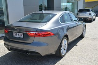 2016 Jaguar XF X260 Portfolio Ammonite Grey 8 Speed Automatic Sedan.