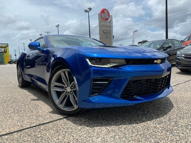 Demo Chevrolet Camaro  2SS, 2018 Chevrolet Camaro 2SS 2SS Hyper Blue 8 Speed Automatic Coupe