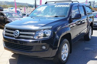 2012 Volkswagen Amarok 2H MY12.5 TDI420 4Motion Perm Deep Black 8 Speed Automatic Utility.