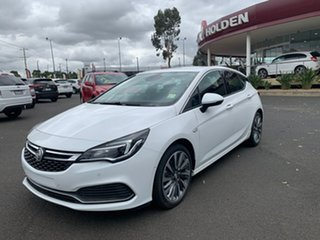 2018 Holden Astra BK MY18.5 RS-V Summit White 6 Speed Sports Automatic Hatchback.