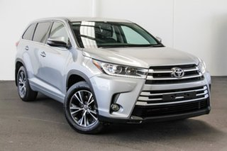 2017 Toyota Kluger GSU55R GX AWD Silver 8 Speed Sports Automatic Wagon.