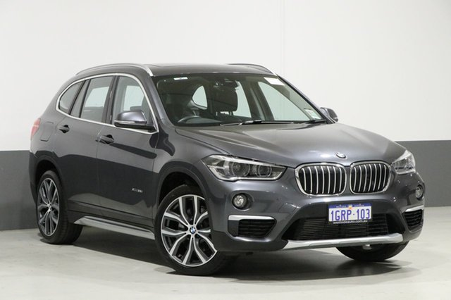 Used BMW X1 F48 MY17 xDrive 25I, 2017 BMW X1 F48 MY17 xDrive 25I Grey 8 Speed Automatic Wagon