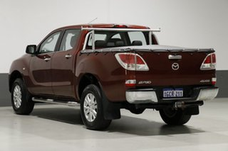2012 Mazda BT-50 GT (4x4) Red 6 Speed Automatic Dual Cab Utility