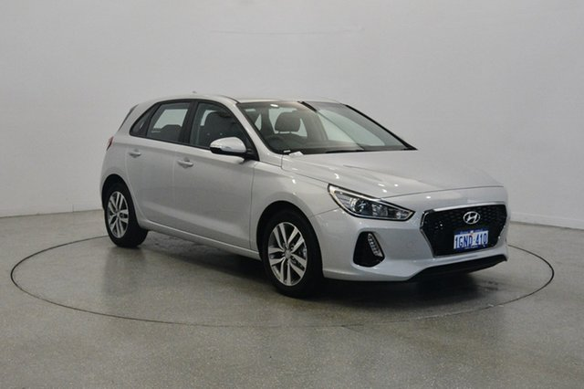 Used Hyundai i30 PD MY18 Active, 2018 Hyundai i30 PD MY18 Active Platinum Silver Metallic 6 Speed Sports Automatic Hatchback