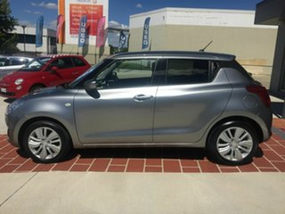 2017 Suzuki Swift AZ GL Navigator Silver 1 Speed Constant Variable Hatchback.