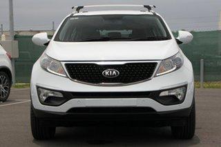 2014 Kia Sportage SL MY14 SLi AWD White 6 Speed Sports Automatic Wagon
