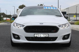 2016 Ford Falcon FG X XR8 White 6 Speed Sports Automatic Sedan