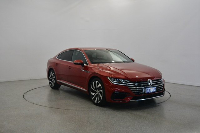 Used Volkswagen Arteon 3H MY18 206TSI Sedan DSG 4MOTION R-Line, 2018 Volkswagen Arteon 3H MY18 206TSI Sedan DSG 4MOTION R-Line Chilli Red 7 Speed