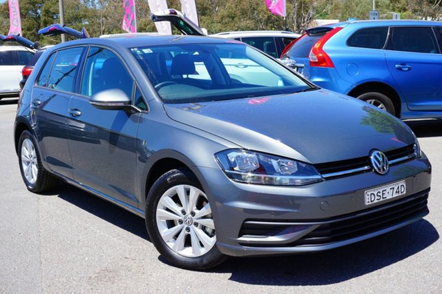 Used Volkswagen Golf 7.5 MY17 110TSI DSG Trendline, 2017 Volkswagen Golf 7.5 MY17 110TSI DSG Trendline Grey 7 Speed Sports Automatic Dual Clutch