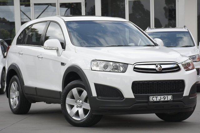 Used Holden Captiva CG MY14 7 LS, 2014 Holden Captiva CG MY14 7 LS White 6 Speed Sports Automatic SUV