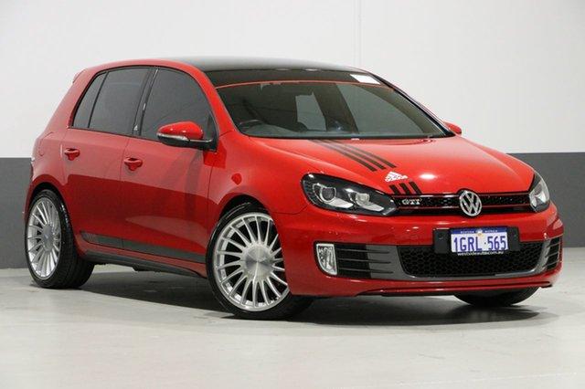 Used Volkswagen Golf 1K MY11 GTI Adidas, 2011 Volkswagen Golf 1K MY11 GTI Adidas Red 6 Speed Direct Shift Hatchback