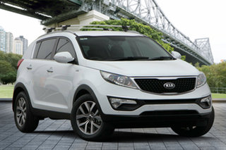 2014 Kia Sportage SL MY14 SLi AWD White 6 Speed Sports Automatic Wagon