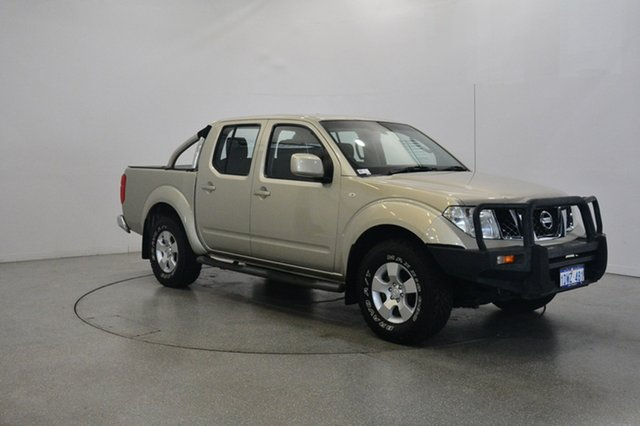 Used Nissan Navara D40 MY11 ST, 2011 Nissan Navara D40 MY11 ST Gold 6 Speed Manual Utility