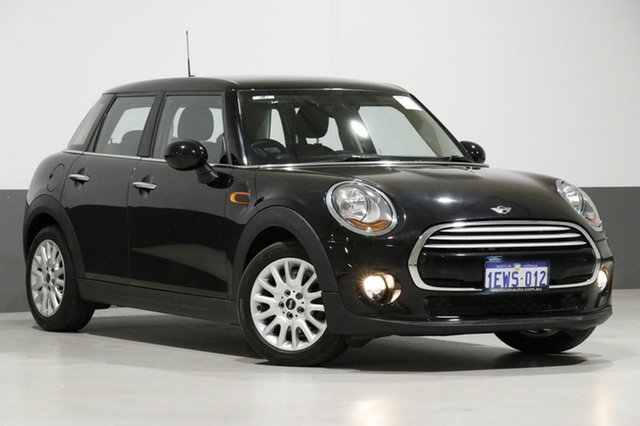Used Mini Cooper F55 , 2015 Mini Cooper F55 Black 6 Speed Automatic Hatchback