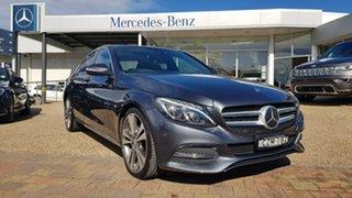 2015 Mercedes-Benz C250 205 MY16 D Tenorite Grey 7 Speed Sports Automatic Sedan.