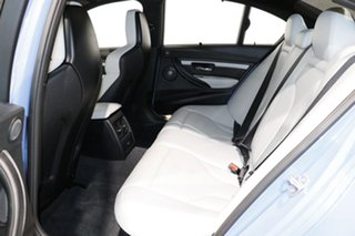 2015 BMW M3 F80 MY15 Yas Marina Blue 7 Speed Auto Dual Clutch Sedan