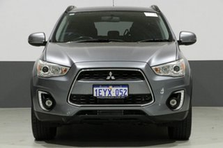 2016 Mitsubishi ASX XB MY15.5 LS (4WD) Grey 6 Speed Automatic Wagon.