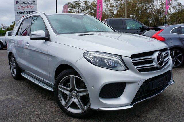 Used Mercedes-Benz GLE350 W166 d 9G-Tronic 4MATIC, 2015 Mercedes-Benz GLE350 W166 d 9G-TRONIC 4MATIC Silver 9 Speed Sports Automatic Wagon