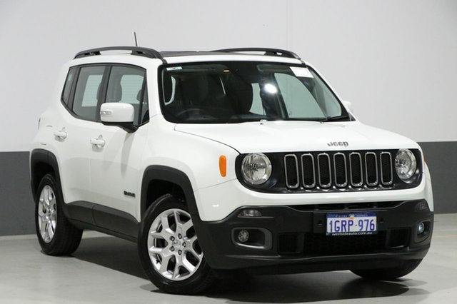 Used Jeep Renegade BU MY17 Longitude, 2017 Jeep Renegade BU MY17 Longitude White 6 Speed Auto Dual Clutch Wagon