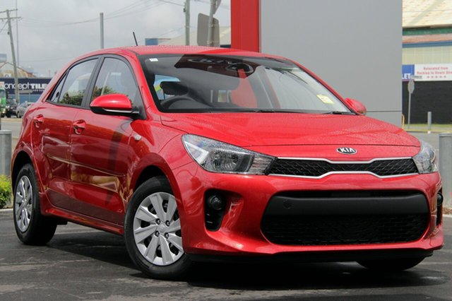 New Kia Rio YB MY19 S, 2019 Kia Rio YB MY19 S Signal Red 4 Speed Sports Automatic Hatchback