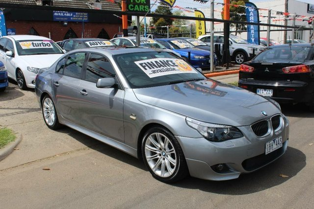 Used BMW 530i E60 MY06 Upgrade Sport, 2006 BMW 530i E60 MY06 Upgrade Sport Grey 6 Speed Auto Steptronic Sedan