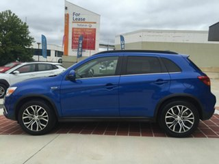 2017 Mitsubishi ASX XC MY18 LS 2WD Blue 6 Speed Constant Variable Wagon.