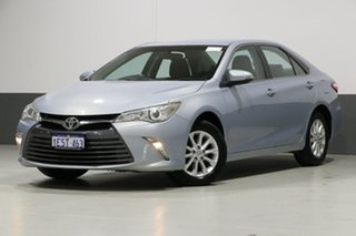 2015 Toyota Camry ASV50R MY15 Altise Silver 6 Speed Automatic Sedan.
