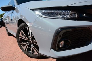 2017 Honda Civic 10th Gen MY17 VTi-LX Sonic Grey 1 Speed Constant Variable Hatchback.
