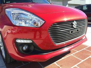 2017 Suzuki Swift AZ GL Navigator Red 1 Speed Constant Variable Hatchback.