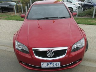 2011 Holden Calais VE II Red 6 Speed Sports Automatic Sedan.