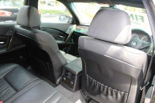 2006 BMW 530i E60 MY06 Upgrade Sport Grey 6 Speed Auto Steptronic Sedan