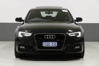 2016 Audi A5 8T MY16 Sportback 3.0 TDI Quattro Black 7 Speed Auto Direct Shift Hatchback.