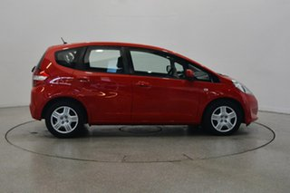 2011 Honda Jazz GE MY11 GLi Red 5 Speed Automatic Hatchback.