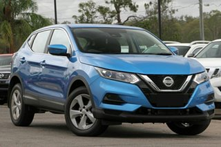 2020 Nissan Qashqai J11 Series 3 MY20 ST X-tronic Vivid Blue 1 Speed Constant Variable Wagon.