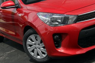 2019 Kia Rio YB MY19 S Signal Red 4 Speed Sports Automatic Hatchback.