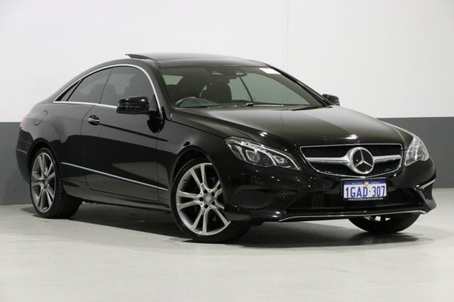 Used Mercedes-Benz E250 207 MY13 , 2013 Mercedes-Benz E250 207 MY13 Black 7 Speed Automatic Coupe