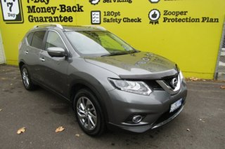 2015 Nissan X-Trail T32 Ti X-tronic 4WD Gun Metallic 7 Speed Constant Variable Wagon.