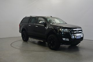 2015 Ford Ranger PX MkII XLT Double Cab Black 6 Speed Sports Automatic Utility