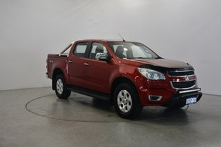 2015 Holden Colorado RG MY16 LTZ Crew Cab Red 6 Speed Sports Automatic Utility.