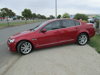 2011 Holden Calais VE II Red 6 Speed Sports Automatic Sedan