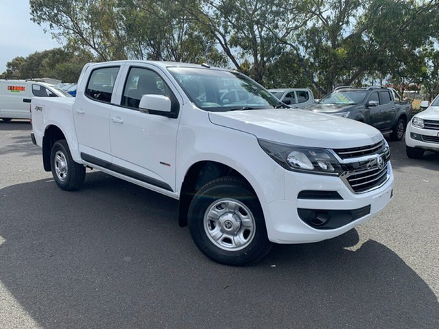 New Holden Colorado RG MY19 LS (4x4), 2018 Holden Colorado RG MY19 LS (4x4) Summit White 6 Speed Automatic Crew Cab Pickup
