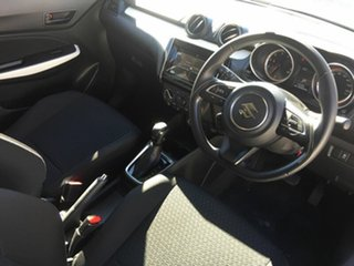 2017 Suzuki Swift AZ GL Navigator Red 1 Speed Constant Variable Hatchback