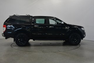 2015 Ford Ranger PX MkII XLT Double Cab Black 6 Speed Sports Automatic Utility.