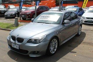 2006 BMW 530i E60 MY06 Upgrade Sport Grey 6 Speed Auto Steptronic Sedan.