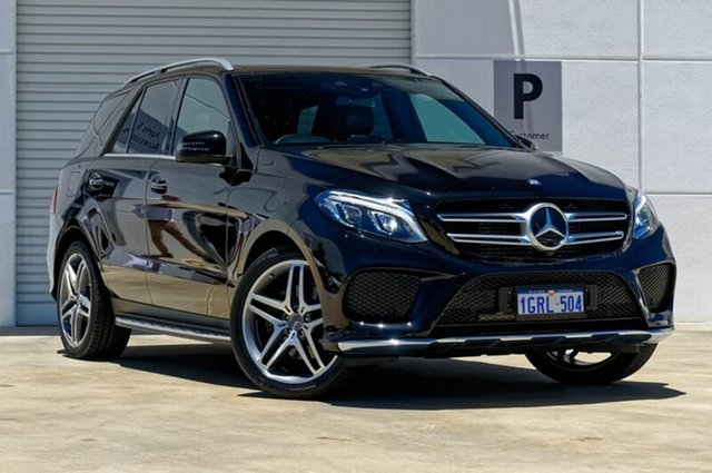 Used Mercedes-Benz GLE350 W166 807MY d 9G-Tronic 4MATIC, 2017 Mercedes-Benz GLE350 W166 807MY d 9G-Tronic 4MATIC Black 9 Speed Sports Automatic Wagon