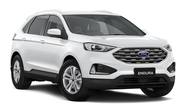 New Ford Endura CA 2019MY Trend SelectShift FWD, 2019 Ford Endura CA 2019MY Trend SelectShift FWD Oxford White 8 Speed Sports Automatic Wagon