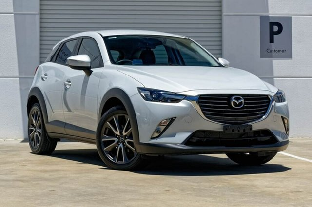 Used Mazda CX-3 DK2W76 sTouring SKYACTIV-MT, 2016 Mazda CX-3 DK2W76 sTouring SKYACTIV-MT Silver 6 Speed Manual Wagon